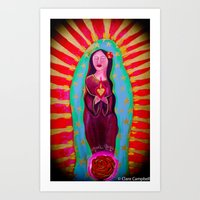The Miracle Mama Art Print