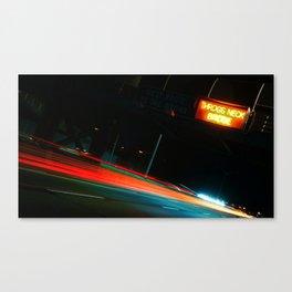 freeway Canvas Print