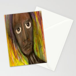 On Streets that Clean the Rain. Stationery Cards