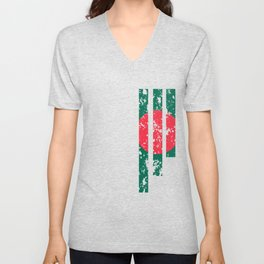 Proud Of Bangladesh - BGD Unisex V-Neck
