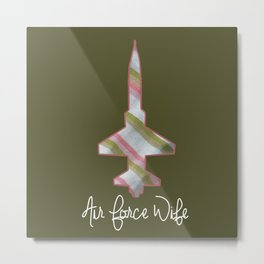 Air Force Wife T-38 Metal Print
