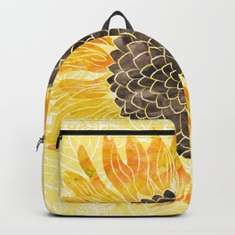 Sunflower Yellow Backpack