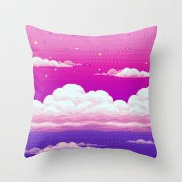 SENPAI [no text] Throw Pillow