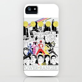 The Mightiest, Morphin'est iPhone Case