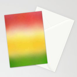 flag of bolivia 6 - with cloudy colors Stationery Cards