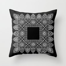 Shakespeare's Lace Throw Pillow