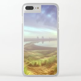 Early morning mist. (Digital Art) Clear iPhone Case
