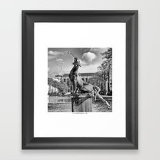 Sainte Catherine Framed Art Print