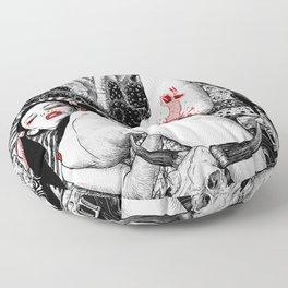 Miss Serpentine Floor Pillow