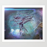 Fly Bird Art Print