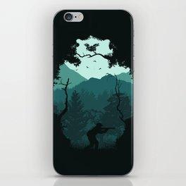 Hunting Season - Blue iPhone Skin