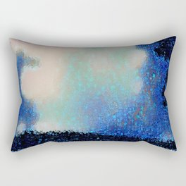 Those Blue Remembered Hills Again Rectangular Pillow