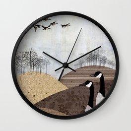 Welcome Back Wall Clock