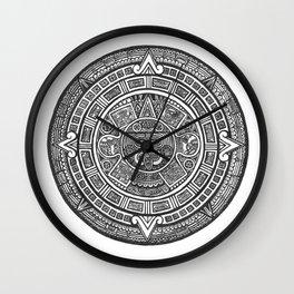 Aztec Roots Wall Clock