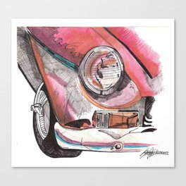 Little Red Ride Canvas Print