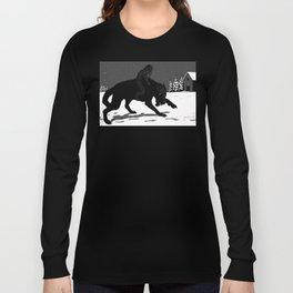Svart-Alf Long Sleeve T-shirt