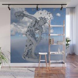 The Discobolus - Disntegration Series Wall Mural