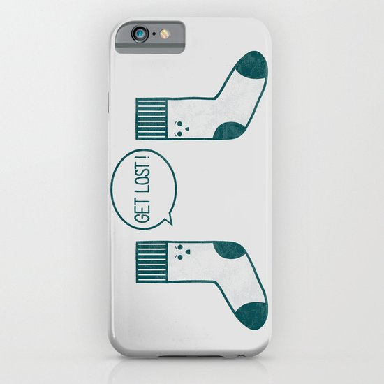 Angry Sock iPhone & iPod Case