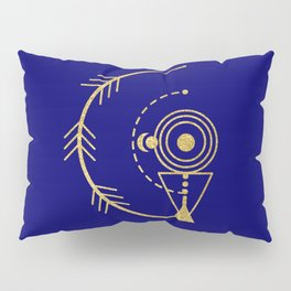 Sacred Geometry Letter G Pillow Sham