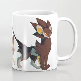 Luxray Evolution Coffee Mug