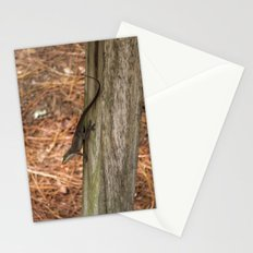 Anole in the pines Stationery Cards