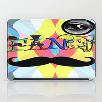 font iPad Cases featuring Fancy Font by Madison R. Leavelle