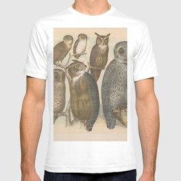 Naturalist Owls T-shirt