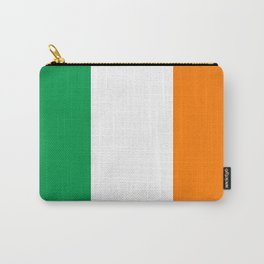 Irish national flag - Flag of the Republic of Ireland, (High Quality Authentic Version) Carry-All Pouch