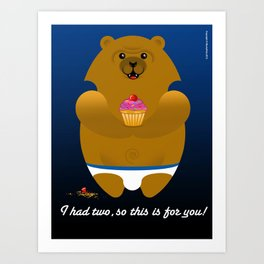 THIS ONES FOR YOU ! Art Print