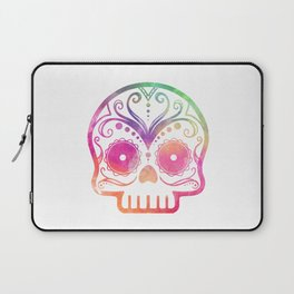 "Custom Design Modern Sugar Skull (""Calavera"") Laptop Sleeve"