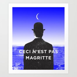 BOLO 1 magritte Art Print