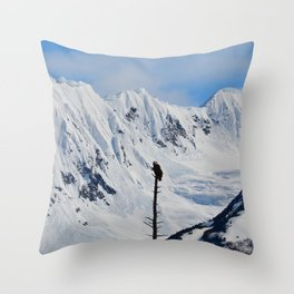 Perch With A View - I Throw Pillow