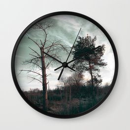 Dead Tree - Live and Die Wall Clock