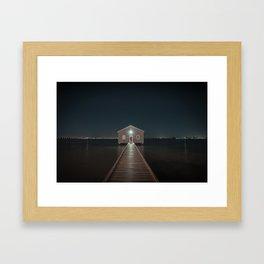 The Boat House 2 Framed Art Print