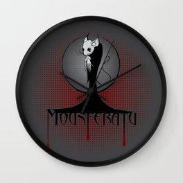 Beware the Mousferatu! Wall Clock