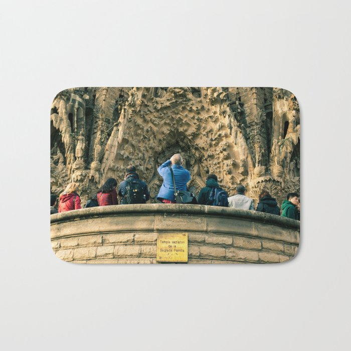 Sagrada Familia, Barcelona, Spain Bath Mat