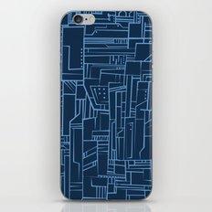 Electropattern (Blue) iPhone & iPod Skin