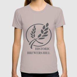 Brewers Hill Sign Black T-shirt