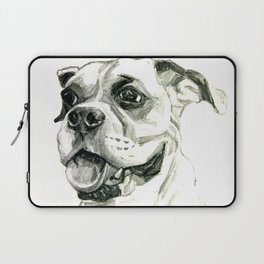 Smiling Boxer Boy Oscar Laptop Sleeve