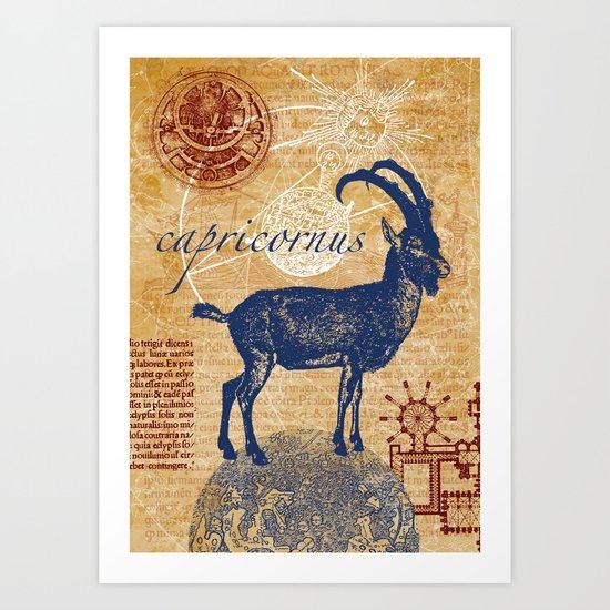 capricornus | steinbock Art Print