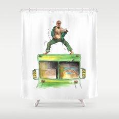 KEEN WOLF. Shower Curtain