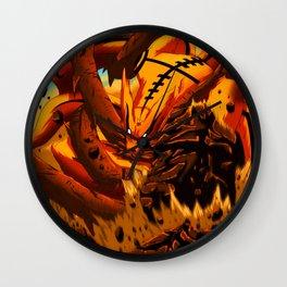 kyuubi angry Wall Clock