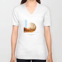 parks V-neck T-shirts featuring National Parks: Yosemite by Roadtrippers