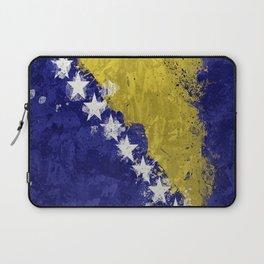 Bosnian Flag Laptop Sleeve