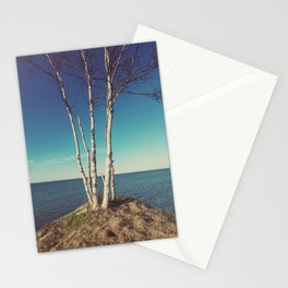 Trees on the Edge Stationery Cards