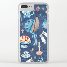 Jane Austens favourite things Clear iPhone Case