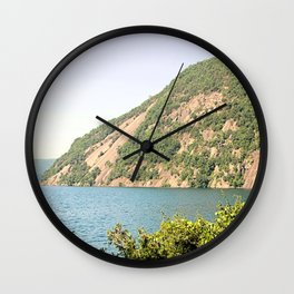 Roger's Rock on Lake George Wall Clock