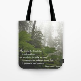 Perennial and Constant Tote Bag