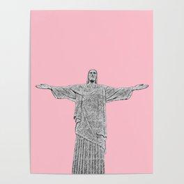 Christ Redeemer Rio de Janeiro - Art Poster