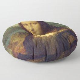 Mona Lisa Floor Pillow